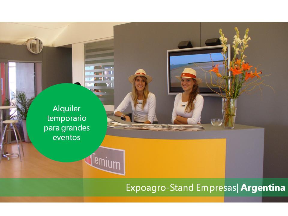 Expoagro Stands : Alq temp expoagro stand empresas u gervasoni ingeniería
