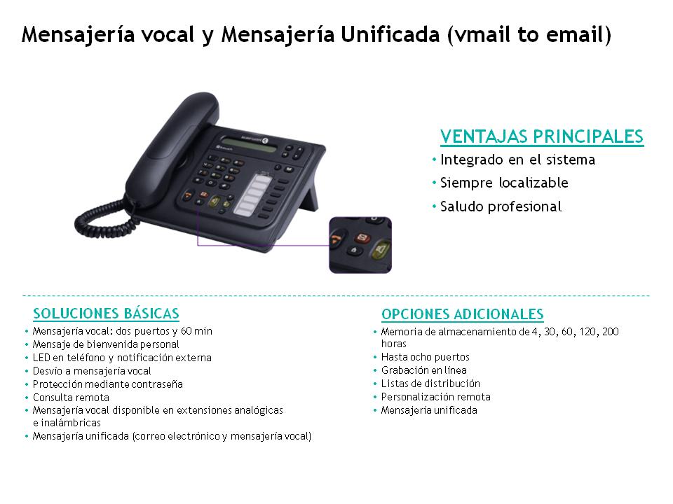 Alcatel-Aplicaciones-Mensajeria vocal y unificada